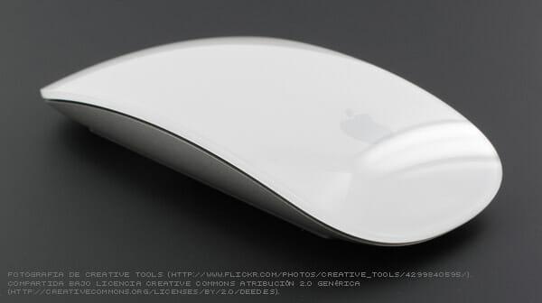 Fotografía del Mighty Mouse, por el que también odio a Apple