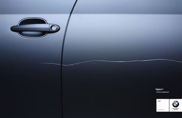 BMW rayado – envidia